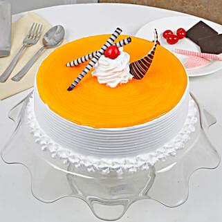 Yummy Mango Cream Cake: Mothers Day Cakes