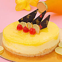 Zesty Lemon Cheesecake: Cake Delivery in Silchar