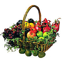 Basket Of Fresh Fruits