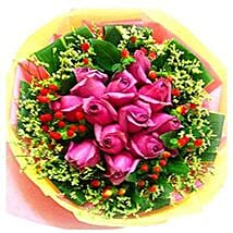 Deluxe Pink Bouquet: Mothers Day Flowers to Malaysia