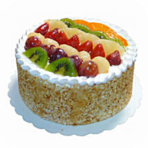 Mixed Fruits Sponge Cake: Valentines Day Cakes in Malaysia