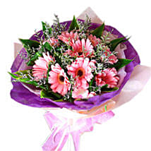 Pink Blush: Send Flower Bouquets to Malaysia