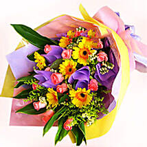 Pink Roses N Gerberas: Send Anniversary Gifts to Malaysia