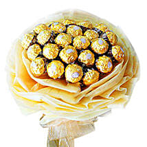 Rocher Delight Bouquet: New Year Gifts Delivery In Malaysia