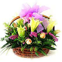 Romantic Basket: Christmas Gifts Delivery In Malaysia