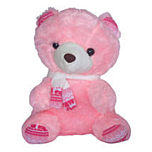 Adorable Pink Teddy Bear: Birthday Gift Delivery in Mauritius