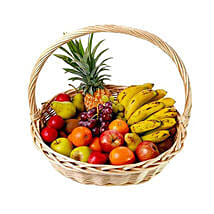 Basket Of Fresh Fruits: Send Romantic Gifts to Mauritius