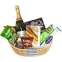 Celebratory Champagne Basket: Order Chocolates in Mauritius