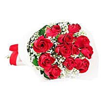Classic Red Roses: Rose Delivery in Mauritius