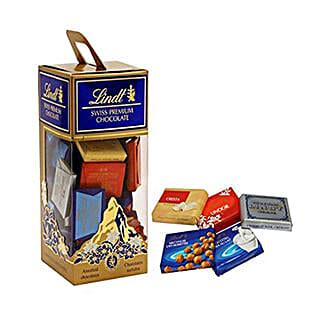 Lindt Premium Choco Box: Birthday Gifts to Mauritius