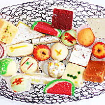 Sweet India Platter: Mauritius Gifts Delivery