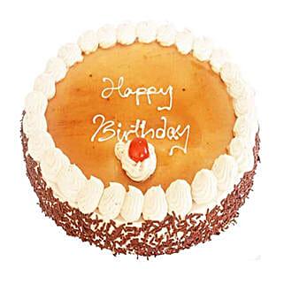 Vanilla Mocha Cake: Send Gifts to Mauritius