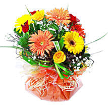 Vivacious Bouquet: Father's Day Gifts to Mauritius