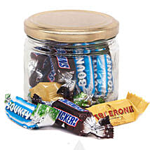 Candy Jar With Love Message: Send Gifts to Nepal