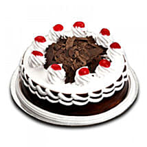 Sweet n Simple Blackforest Cake: Anniversary Gifts to Nepal
