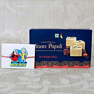 Kids Rakhi Sweet Hamper: Rakhi Delivery in Netherlands