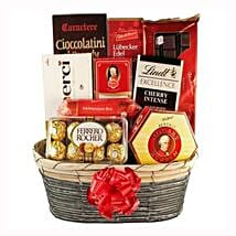 The Sweetvaganza Gift Basket: Gifts to Netherlands