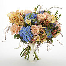Bloom Seasonal Bouquet: Flower Delivery Wellington