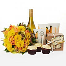 Bright N Beautiful Hamper: Send Gifts to Hamilton