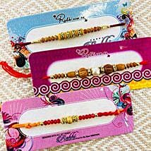 Brothers Three Rakhi: Send Rakhi to New Zealand