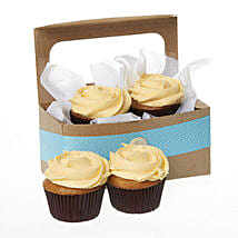 Caramel Salted Cupcakes: Send Gifts to Hamilton