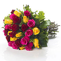 Mixed Roses Bouquet: Friendship Day Gift Delivery In NZ