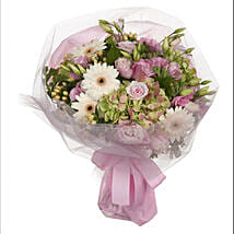 Pastel Mini Posy: Valentines Day Roses in NZ