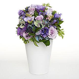 Pink N Purple Posy: Flower Arrangements in New Zealand