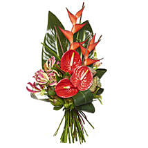 Ravishing Red Bouquet: Congratulations Flowers to New Zealand