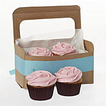 Strawberry Cupcakes: Send Anniversary Cakes To New Zealand