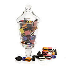 Sweet Licorice Jar: Send Gifts to Hamilton
