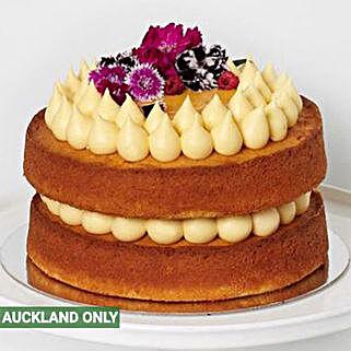 Tangy Lemon Cake: Send Birthday Cakes to New Zealand