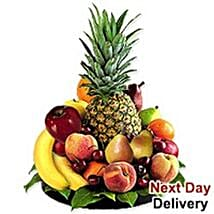 Delightful Fruit Tray nwy: Send Gifts to Norway