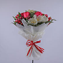 Bouquet Of Pure Love: Send Gift to Salalah