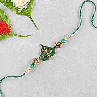 Divine Om Designer Rakhi: Send Rakhi to Oman