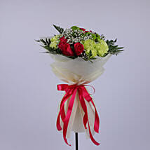 Fervent Floral Bouquet: Send Gifts to Oman