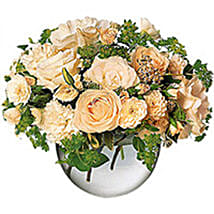White hand tied oma: Oman Florist