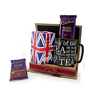 Keep Calm Tea Set: Send Gifts to Pakistan