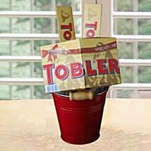 Toblerone Tower PIL: Valentine Chocolates to Philippines