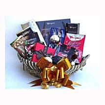 Holiday coffee and Sweets Gift Basket: Gift Delivery in Poland