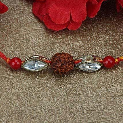 Love For Rudraksha Rakhi QAT