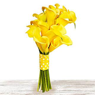 Brilliant Yellow: Valentine's Day Flowers to Qatar