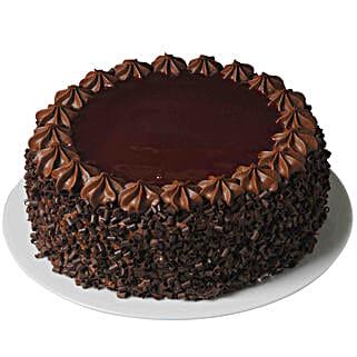 Luscious Chocolate Cake: Send Birthday Cakes to Qatar