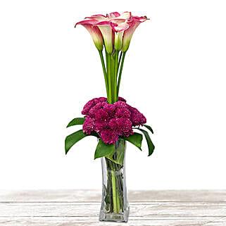 Purple Passion: Flower Arrangements in Qatar