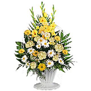 Sympathy Arrangement qat: Funeral Flower Delivery in Qatar