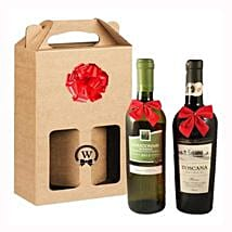 Classic Dual Italian Wines: Corporate Hampers to Romania
