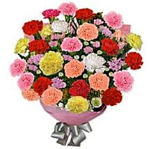 Carnation Carnival RSIA: Gift Delivery in Russia