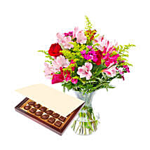 A Little Tenderness Set: Mothers Day Flowers to Saudi Arabia