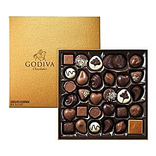 Chocolate Box By Godiva 34: Valentine Gifts to Saudi Arabia