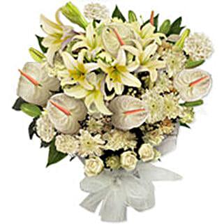 White Frost SUAR: Flowers to Saudi Arabia